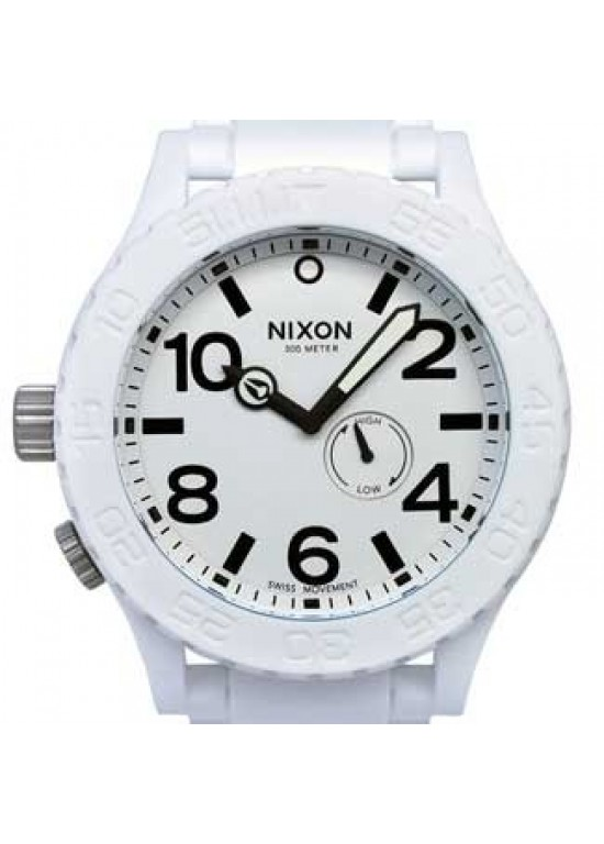Nixon Rubber 51-30 Stainless Steel Mens Watch - A236-100-dial