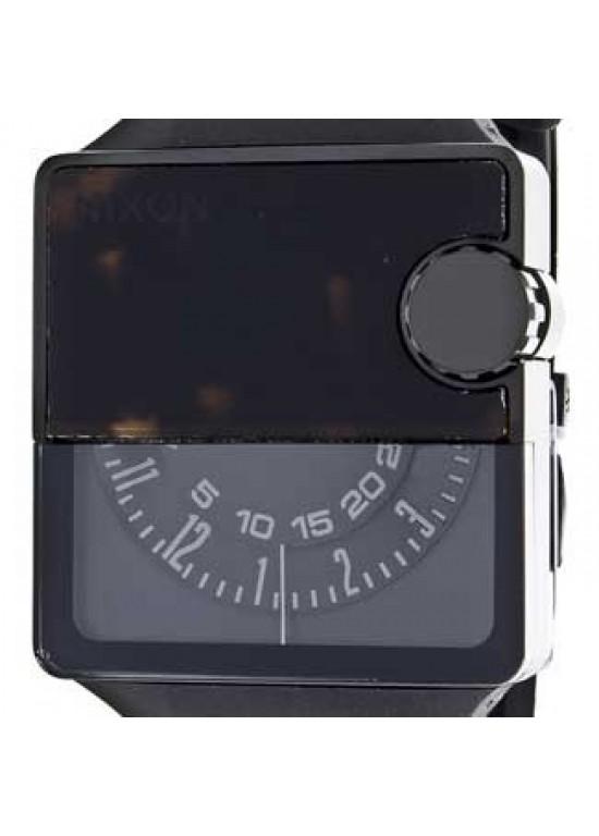Nixon Rubber Murf Stainless Steel Mens Watch - A237-061-dial