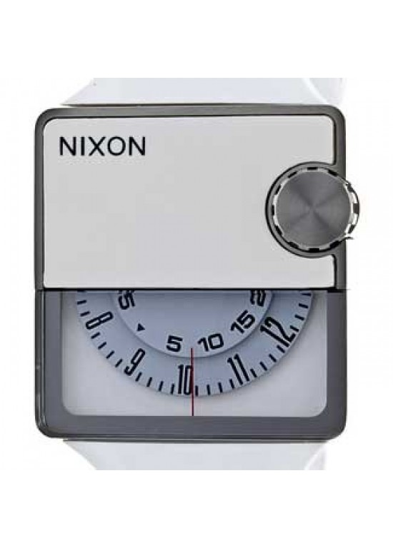 Nixon Rubber Murf Stainless Steel Mens Watch - A237-126-dial