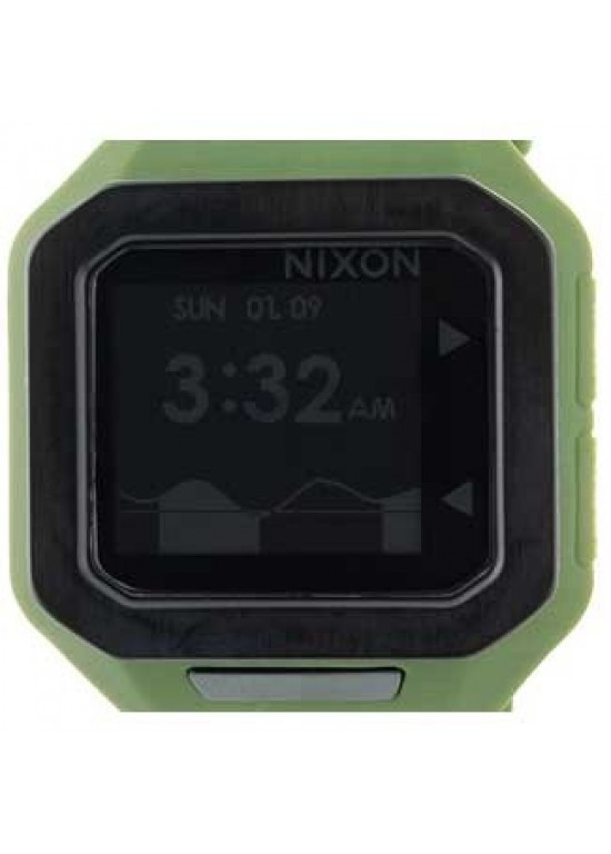Nixon Supertide Stainless Steel Mens Watch - A316-085-dial
