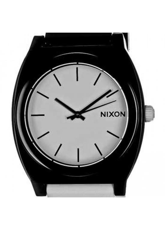 Nixon Time Teller Black Polycarbonate Mens Watch - A119-005-dial