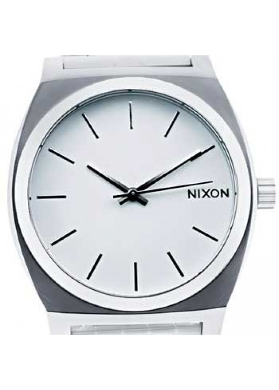 Nixon Time Teller Stainless Steel Mens Watch - A045-100-dial