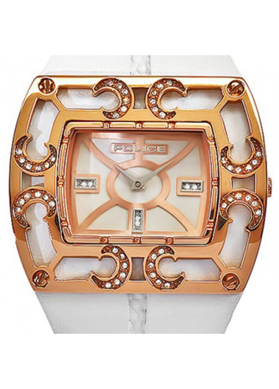 Police Adora Rose Gold-plated SS Ladies Watch - PL11477JSR-01-Dial