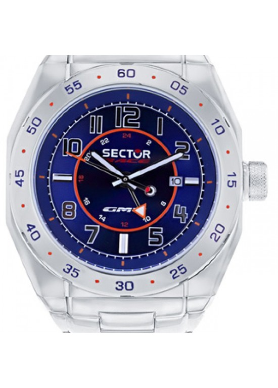Sector Race Stainless Steel Mens Watch - 3253660035-Dial