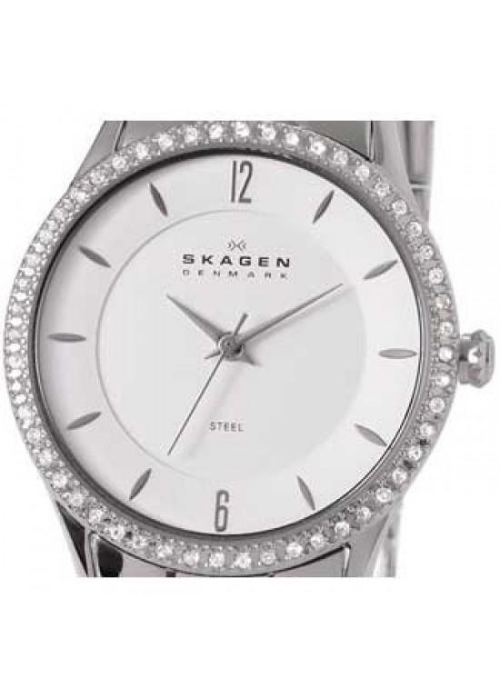 Skagen Classic Stainless Steel Ladies Watch - 347SSX-dial