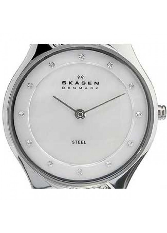 Skagen Steel Collection Stainless Steel Ladies Watch - 635SSS1-dial