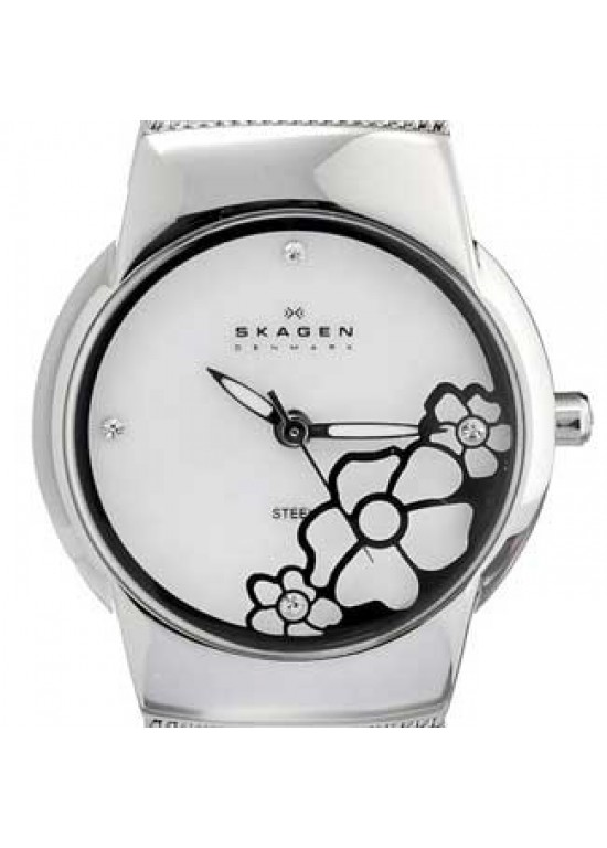 Skagen Steel Collection Stainless Steel Ladies Watch - 881SSS-dial