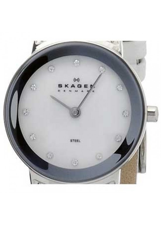 Skagen Swarovski Elements Stainless Steel Ladies Watch - 812SSLW1-dial