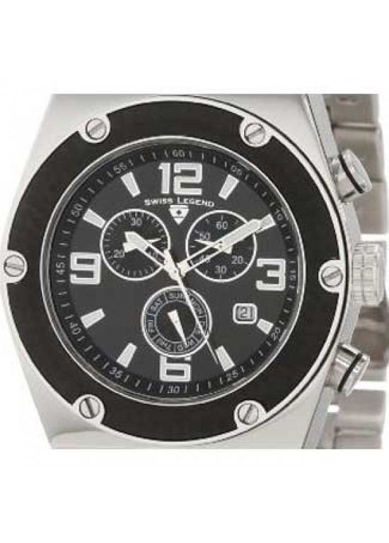 Swiss Legend Classic Stainless Steel Mens Watch - SL-40025P-11-BB-dial