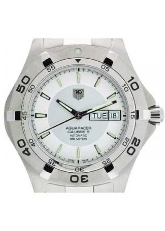 Tag Heuer Aquaracer Stainless Steel Mens Watch - WAF2011.BA0818-dial