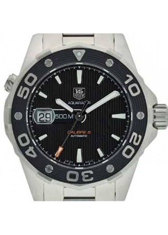Tag Heuer Aquaracer Stainless Steel Mens Watch - WAJ2110.BA0870-dial