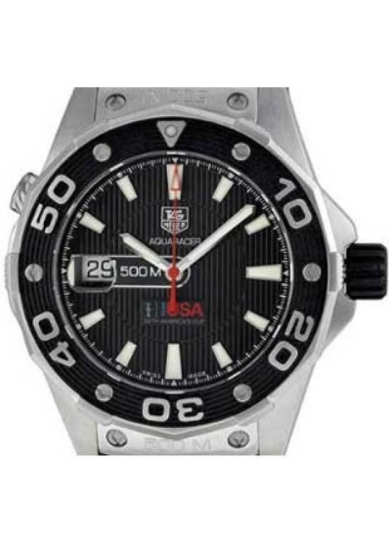 Tag Heuer Aquaracer Stainless Steel Mens Watch - WAJ2118.FT6015-dial