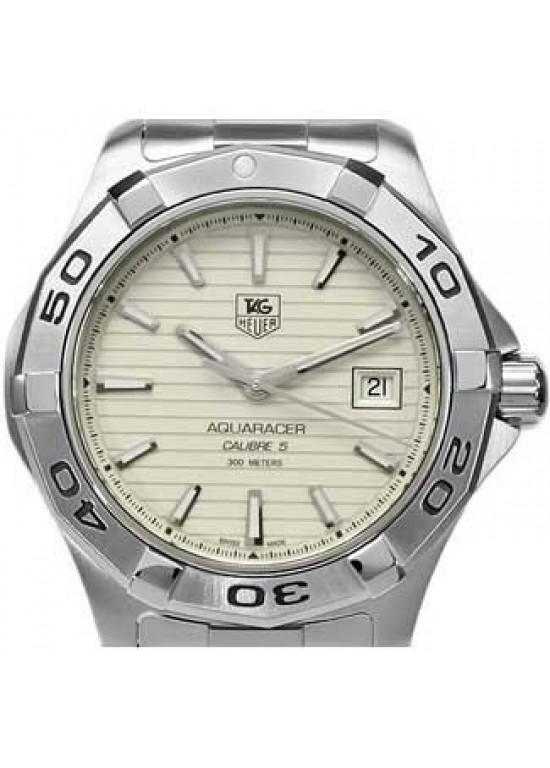 Tag Heuer Aquaracer Stainless Steel Mens Watch - WAP1111.BA0831-dial