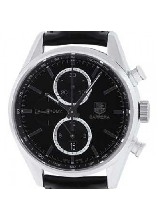 Tag Heuer Carrera Stainless Steel Mens Watch - CAR2110.FC6266-dial