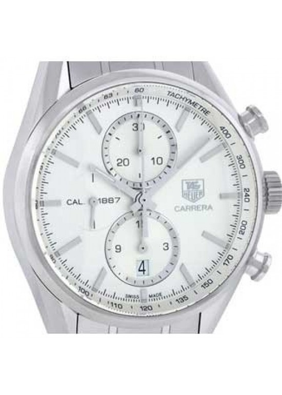 Tag Heuer Carrera Stainless Steel Mens Watch -  CAR2111.BA0720-dial