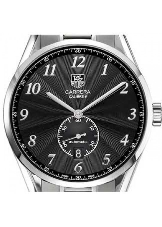 Tag Heuer Carrera Stainless Steel Mens Watch - WAS2110.BA0732-dial