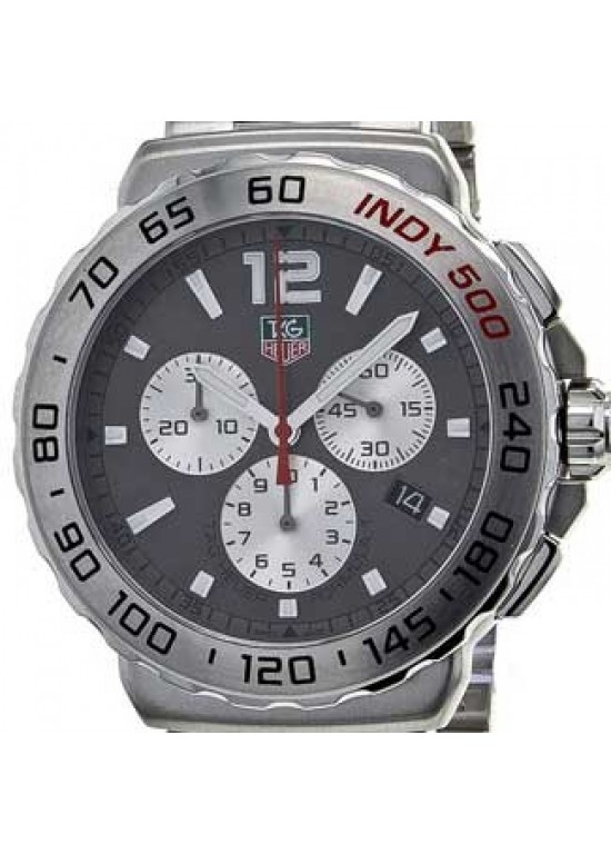 Tag Heuer Formula 1 Fine-brushed Steel Mens Watch - CAU1113.BA0858-dial