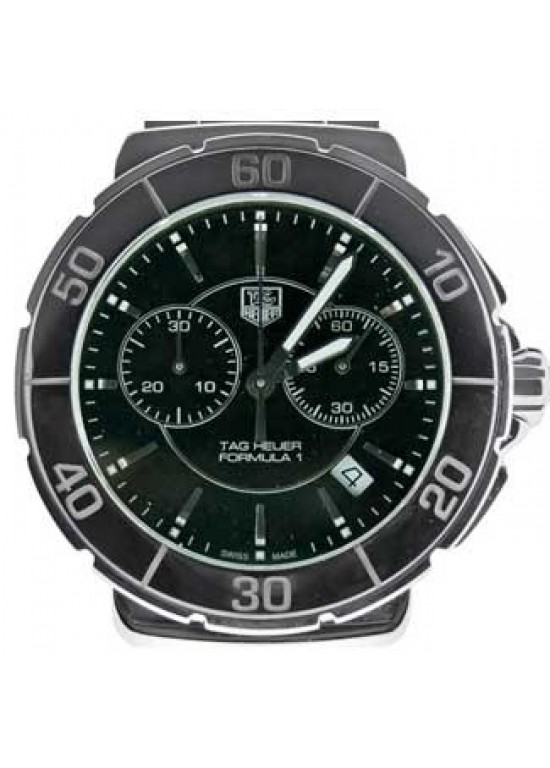 Tag Heuer Formula 1 Stainless Steel Mens Watch - CAH1210.BA0862-dial