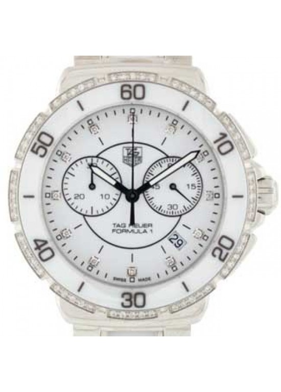 Tag Heuer Formula 1 Stainless Steel Unisex Watch - CAH1213.BA0863-dial