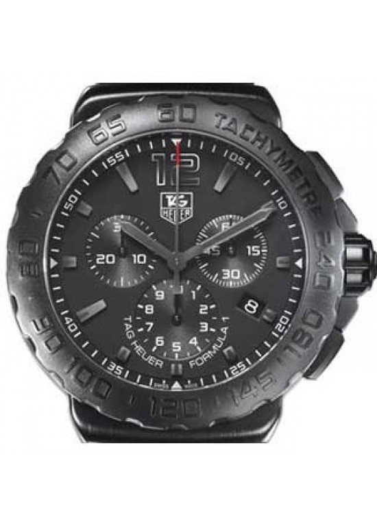 Tag Heuer Formula 1 Titanium Carbide-Coated SS Watch-CAU1114FT6024-dial