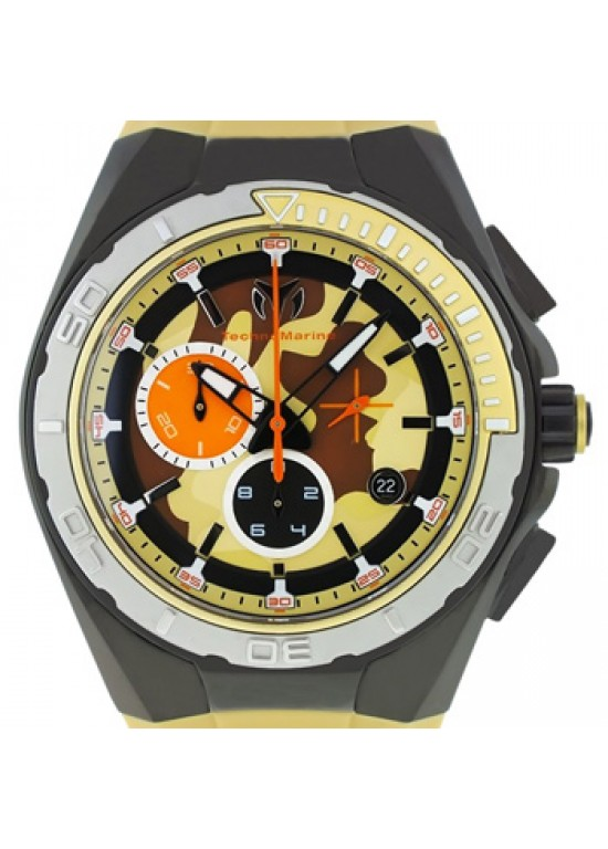 Technomarine Cruise Black Ion Plated SS Mens Watch - 110072-dial