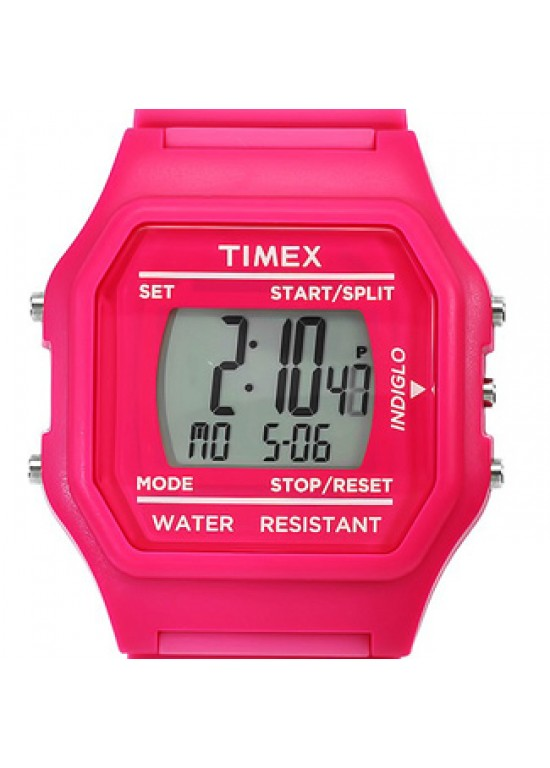 Timex Pink Makemake Plastic Ladies Watch - T2N246-Dial