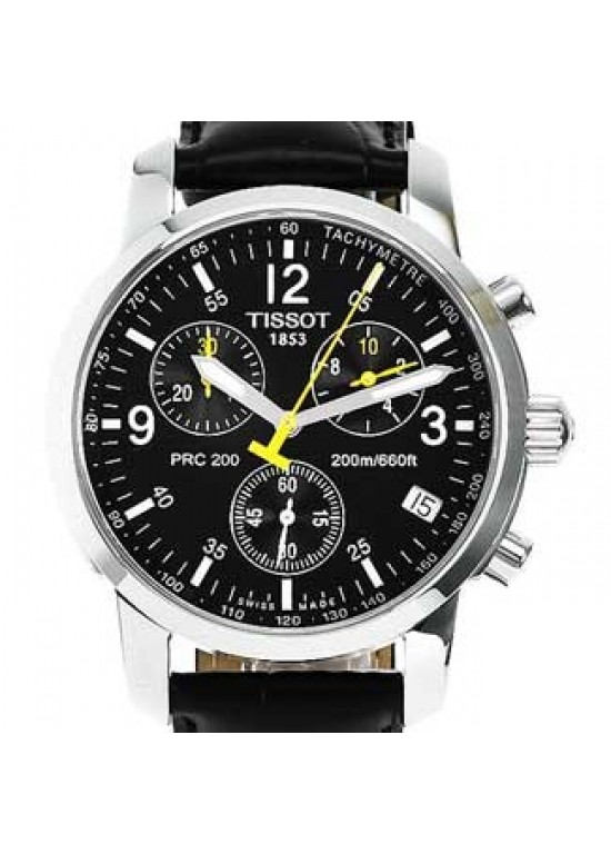 Tissot PRC 200 Stainless Steel Mens Watch - T17.1.526.52-dial