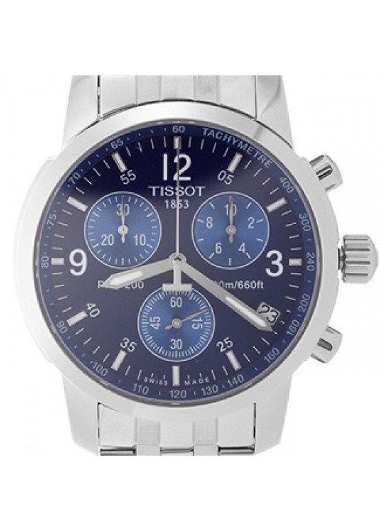 Tissot PRC 200 Stainless Steel Mens Watch - T17.1.586.42-dial