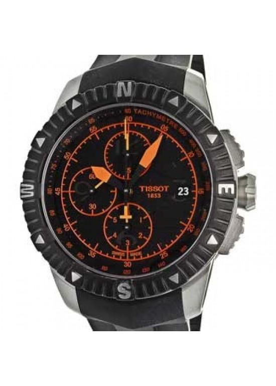 Tissot T-Navigator Black PVD SS Mens Watch - T0624271705701-dial