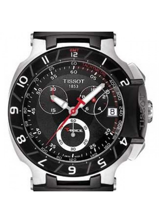 Tissot T-Race Stainless Steel Mens Watch - T0484172705100-dial
