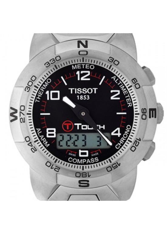 Tissot T-Touch Titanium Mens Watch - T33.7.788.51-dial