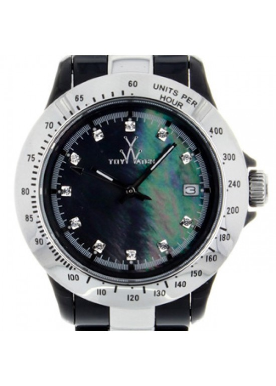 Toy Watch Heavy Metal Stainless Steel Unisex Watch - HM10BKSL-dial