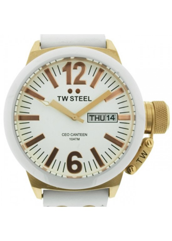 TW Steel CEO Canteen Rose Gold-plated SS Mens Watch - CE1035-dial