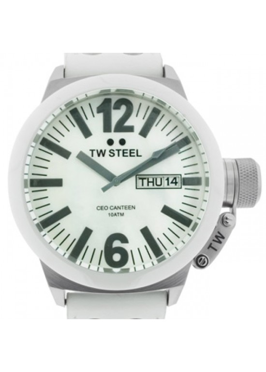 TW Steel CEO Canteen Stainless Steel Mens Watch- CE1037-dial