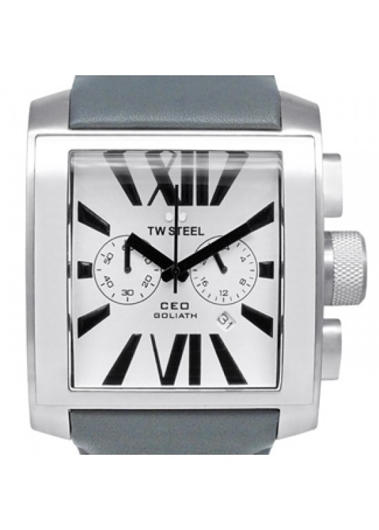 TW Steel CEO Goliath Stainless Steel Mens Watch - CE3003-dial