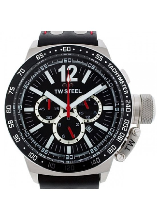 TW Steel Ceramic Stainless Steel Mens Watch - CE1015-dial