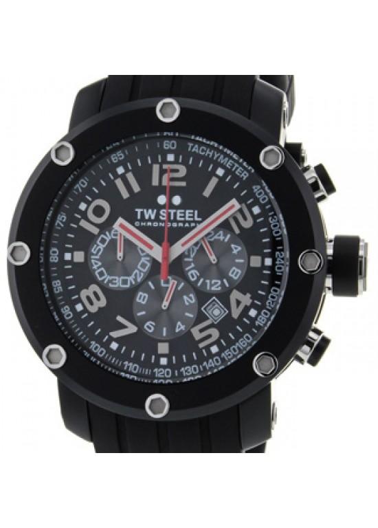 TW Steel Grandeur Tech Black PVD Stainless Steel Mens Watch - TW134-dial