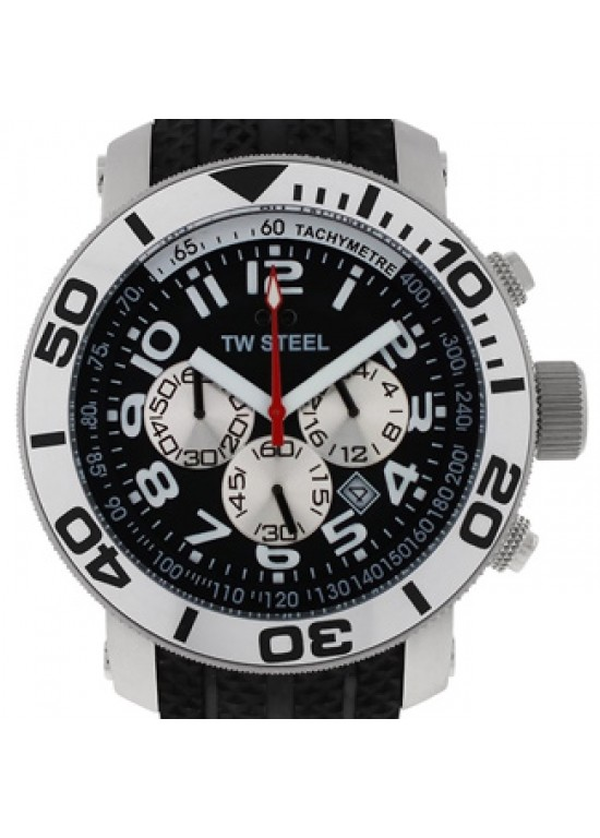 TW Steel Grandeur Stainless Steel Mens Watch - TW72-dial