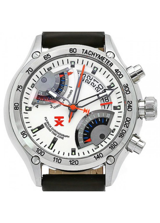 TX Flyback Stainless Steel Mens Watch - T3C180-Dial