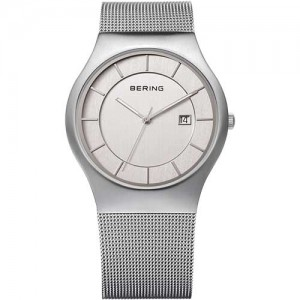 BERING - 11938-000 - Unisex White Dial Watch