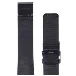 Bering Ion-Plated Black Stainless Steel Mesh Strap