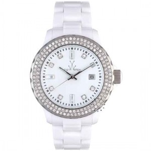 Toy Watch Classic Plasteramic Ladies Watch - PCLS22WH