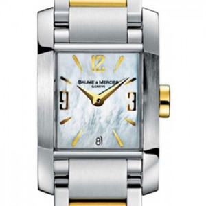 Baume & Mercier Diamant Stainless Steel Ladies Watch - MOA08600-Dial