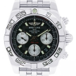 Breitling Chronomat Stainless Steel Mens Watch - AB014012/BA52-dial