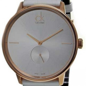 Calvin Klein Accent Rose Gold-Tone Stainless Steel Ladies - K2Y216K6-dial