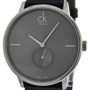 Calvin Klein Accent Stainless Steel Mens - K2Y211C3-dial