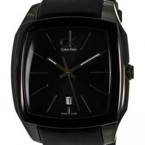 Calvin Klein Recess Black PVD Stainless Steel Mens - K2K21402-Dial