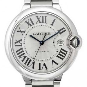 Cartier Ballon Bleu Stainless Steel Mens Watch - W69012Z4-dial