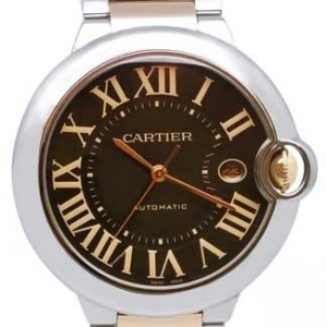 Cartier Ballon Bleu Stainless Steel Mens Watch - W6920032-dial