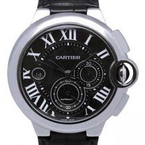 Cartier Ballon Bleu Stainless Steel Mens Watch - W6920052-dial